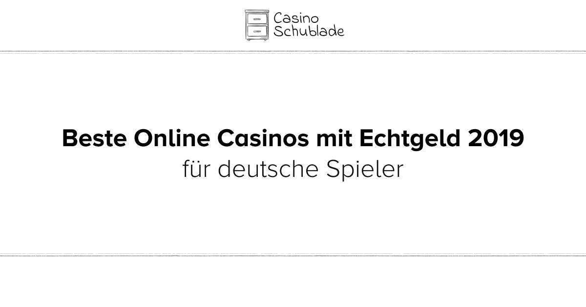 Online Casinos Mit Echtgeld