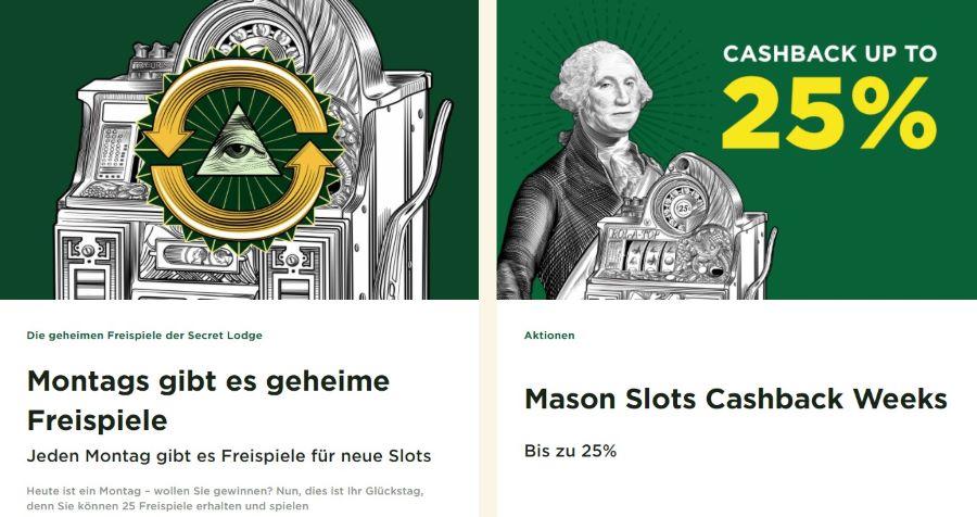 mason slots casino aktionen